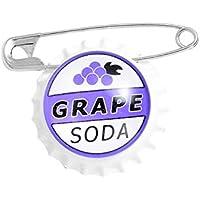 GIOIELLI Tappo di bottiglia Smalto Spille da bavero Uva Soda Spille Distintivi Moda Creatività Spille Regali per gli…