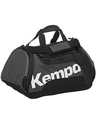 Kempa SPORTLINE - Bolsa de deportes (90 L), color negro, gris y blanco