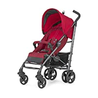 Chicco Lite Way 2 Top Baston Bebek Arabası Red