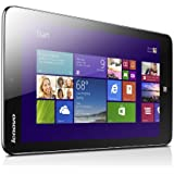 Lenovo Miix2 8-inch Tablet (Silver) - (Intel Atom 1.33GHz, 2GB RAM, 32GB eMMC, WLAN, BT, 2x Camera, Windows 8.1)