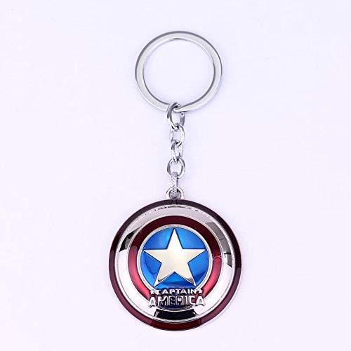 Klassiker Avengers 4 Iron Man Maske Thor Hammer Mjolnir Schlüsselanhänger Captain America Shield Mjolnir Infinity Krieg Für Männer Frauen Fans - Shield Geschmack