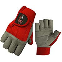 met-x Sailing Gloves 3/4 Finger and Grip Great for Sailing, Yachting, Paddling, Kayaking, Fishing, Water Sports for Men and Women