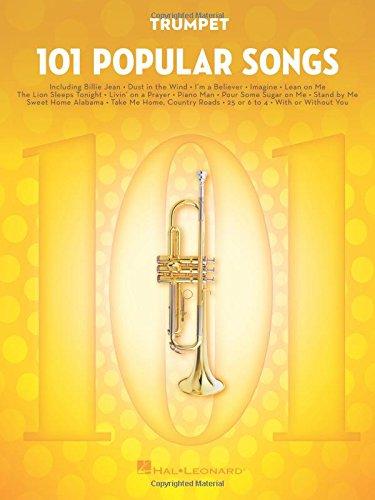 101 Popular Songs - Trumpet (Instrumental Folio) por Hal Leonard Publishing Corporation