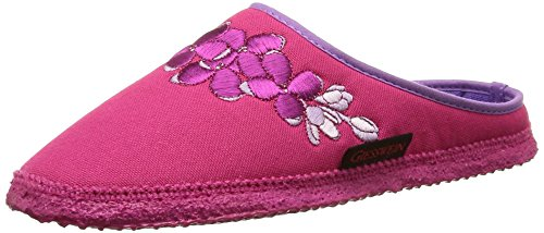 Giesswein Pollenfeld, Chaussons Mules Femme Rose (364 Himbeer)
