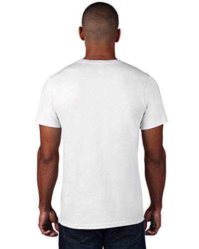 anvil Herren Fashion Basic Tee / 980 Smoke (nicht meliert)