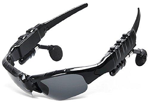 Bluetooth Brille mit Wireless-Kopfhörer Outdoor-Sport-Sonnenbrillen Radfahren Sonnenbrillen Multifunktionale Smart-Musik-Brille Konversation Brille