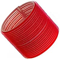 Hair Tools Velcro Cling Hair Rollers - Jumbo Red 70 mm x 6