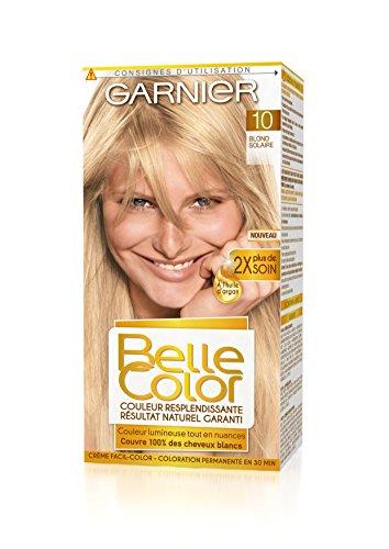 garnier belle color coloration permanente blond 10 blond solaire naturel - Belle Color Blond Naturel