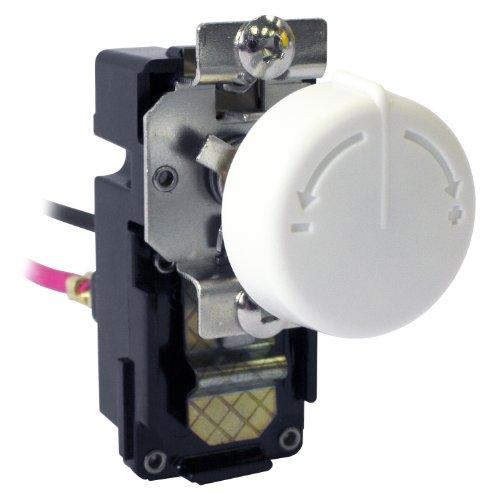 King Elektrische tkit-2bw Doppel Pole Built in Thermostat-Kit, weiß (Thermostat Kit Pole)