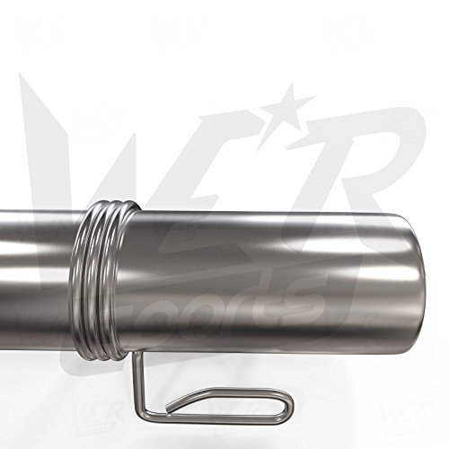 2-x-Olympic-Steel-Spring-Collars-2-Quot-50-mm-Handlebar-Handlebar-Gym-Weight-Bar-Clip