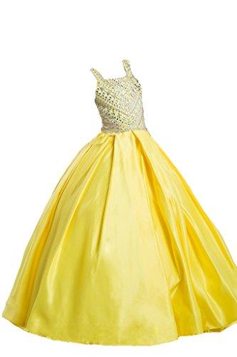 PuTao Prinzessin Mädchen Karneval Perlen Kleid Party Abend Ballkleider