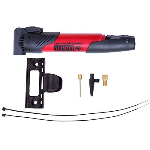Newin Star Cycling Gear mini pompa per bicicletta kit di riparazione pneumatici compatto e leggero frame-mounted staffa per pompe bicicletta pneumatico tubi