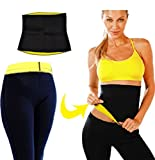 #6: Ample Wings Unisex Combo Hot Shaper Pants And Hot Shaper slimming Belt For man & Women Waist trimmer