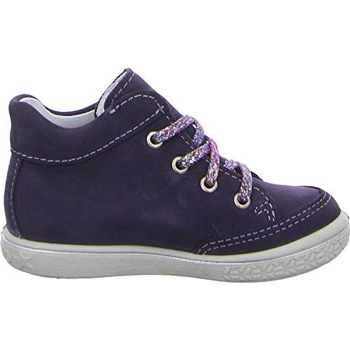 Ricosta Mädchen Shelly Hohe Sneaker Violett (Blackberry)