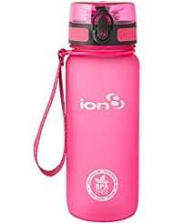 Ion8 auslaufsichere Wasserflasche / Trinkflasche, BPA-frei