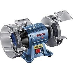Bosch Professional Touret à Meuler GBG 60-20 (600 W, Ø de la meule : 200 mm, Largeurs des meules : 25 mm)