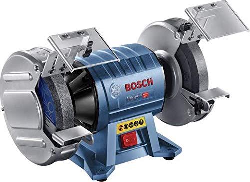 BOSCH 060127A400 060127A400-Esmeriladora GBG 60-20 Professional. Esmeriladora. 600 W. 3.000 RPM. Disco 200x25x32 mm. Caja de cartón, Azul