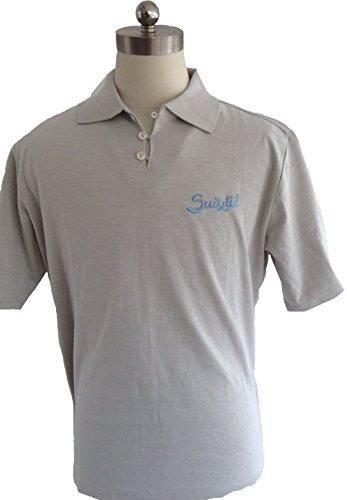Suixtil Herren Poloshirt Stahlgrau