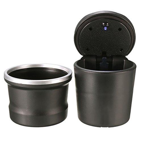 Alamor Portable Car Aschenbecher Lagerung Box Led Für Bmw Von 1 Serie 3 Serie 5 Serie 7Er X 1 X 3 X 5 X 6