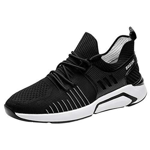 Sanahy Herren Damen Sneaker Straßenlaufschuhe Sportschuhe Turnschuhe Outdoor Leichtgewichts Laufschuhe Freizeit Atmungsaktive Fitness Schuhe