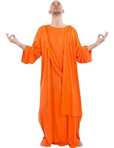 Buddhistischer Mönch Kostüm für Erwachsene (Buddhistische Kostüme)