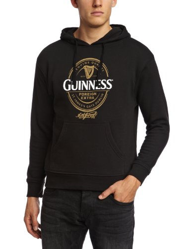 Guinness Official Merchandise Herren Sweatshirt  X-Large (Brand size : X-Large) (Sweatshirt Flag Irish)