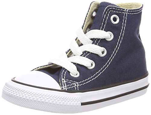 Blau Junior Handtaschen (Converse Unisex-Kinder C. Taylor All Star Youth Hi 3J2 Sneaker, Blau (Navy 3j233c), 28 EU)