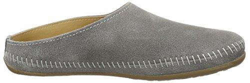 Haflinger Softino, chaussons d'intérieur mixte adulte Grau (graphit)