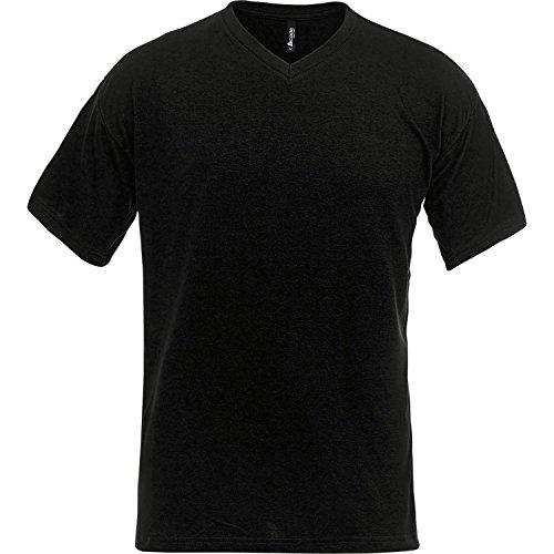 ACODE T-Shirt V-Ausschnitt schwarz Größe 52/54 (L) 100{9aa8d6f25d2c317d7ea8922a9b19624c0c98bae600c325132b87b84283d2c8b1} Baumwolle