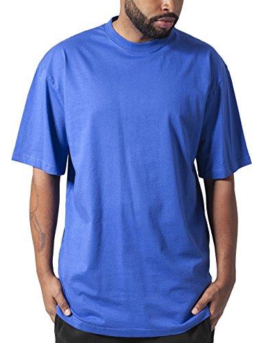 Urban Classics TB006 Herren T-Shirt Tall Tee | Oversize Shirt, Blau (Royal 205), XL