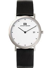 Danish Design Herren-Armbanduhr IQ12Q272 Analog Quarz Leder IQ12Q272