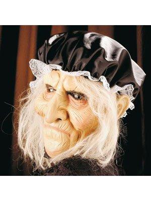 Erw.-Maske Alte mit Haar + Haube