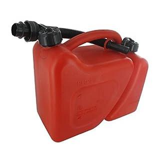 JARDIN PRATIC Jerrican plastique double usage 5 + 2 litres avec bec verseur