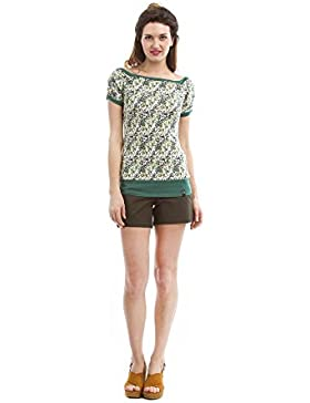ZERGATIK Camiseta Mujer Yama
