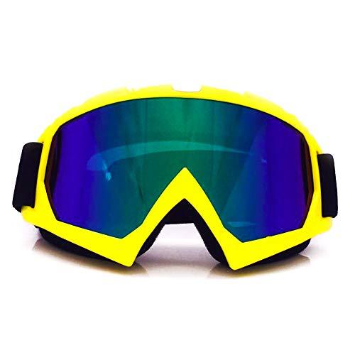 Yiph-Sunglass Sonnenbrillen Mode Skibrille Anti-Fog-UV-Schutzhelm kompatible Schneebrille für Männer und Frauen (Color : 4, Size : One Size)