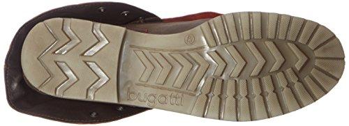 Bugatti J85315g, Bottes Femme Marron (D´braun/ Rot)