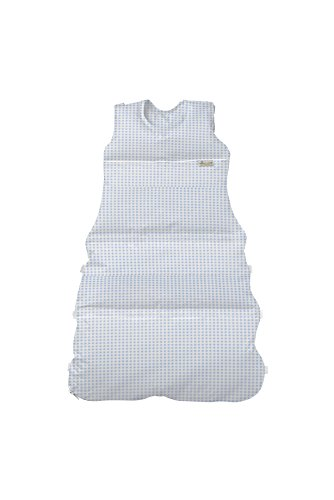 Climarelle Daunenschlafsack, längenverstellbar, Alterskl. ca 3-20 Monate, Vichy bleu, 80cm