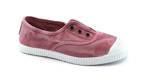 CIENTA Rose élastiques Chaussures bébé Unisexe Glisser sur Le Tissu
