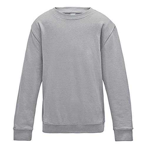 kids-awdis-sweatshirt-crew-neck-taped-stylish-fit-soft-cotton-ribbed-collar-cuff-and-hem-9-11-years-