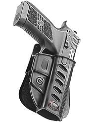 Fobus nouveau dissimulé pistolet report rétention étui Holster pour CZ 75 P-07 Duty et P09, Tanfoglio Stock 3 étui en polymère noir