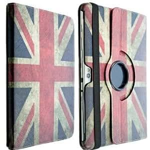 Retro Phone Co®-360-Retro Union Jack Leather PU Stand Case Cover for Apple ipad 4, iPad 2/iPad 3 with Magnetic Sleep Wake Sensor