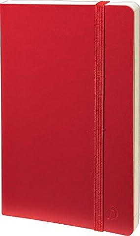 10x 15cm 1semaine sur 2pages–16mois horizontal Agenda QUOVADIS 15SD Coque Habana Smooth Rouge 549003q 2016