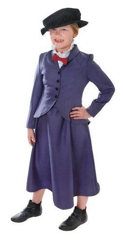 er-Kostüm Nanny, groß (Englisch Nanny Kostüm)
