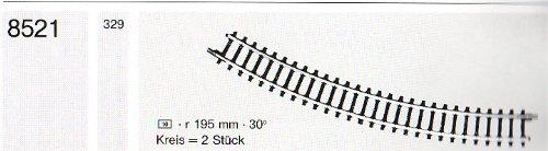 Märklin 8521 Z Gebogenes Gleis