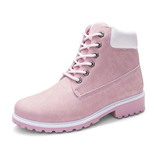 Botas Mujer Zapatos de Tobillo Martin Para Las Señoras Por ESAILQ