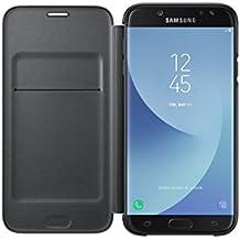 Samsung Galaxy J7 Pro 2017 Wallet Cover - Black