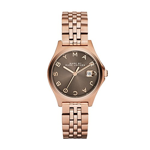 Marc Jacobs MBM3352 - Reloj de Cuarzo para Mujer, Correa de Acero Inoxidable Color Dorado