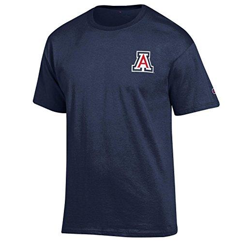 NCAA Notre Dame Fighting Irish Herren Champ Short Sleeve T-Shirt 5Navy, Herren, NCAA Men's Champ Short Sleeve T-Shirt 5, Team Color-3, X-Large
