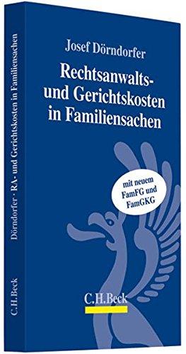 Rechtsanwalts- und Gerichtsgebühren in Familiensachen - Partnerlink