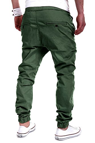 MT Styles Harem Jogger Chino-Hose C-60 Grün